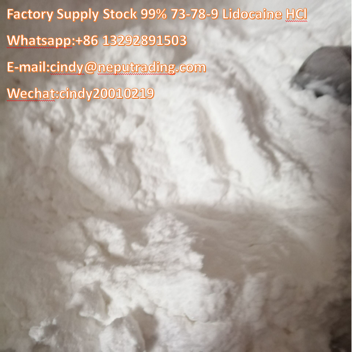 99% Lidocaine Hydrochloride / Lidocaine HCl Pain Relief Powder 73-78-9,Shijiazhuang,Others,Services,77traders