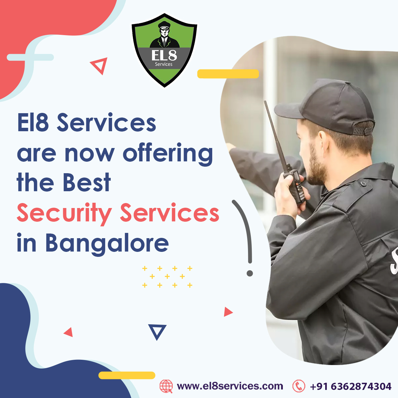 Best Security Guard Services Company in Bangalore – El8 Services,Bangalore,Services,Other Services,77traders
