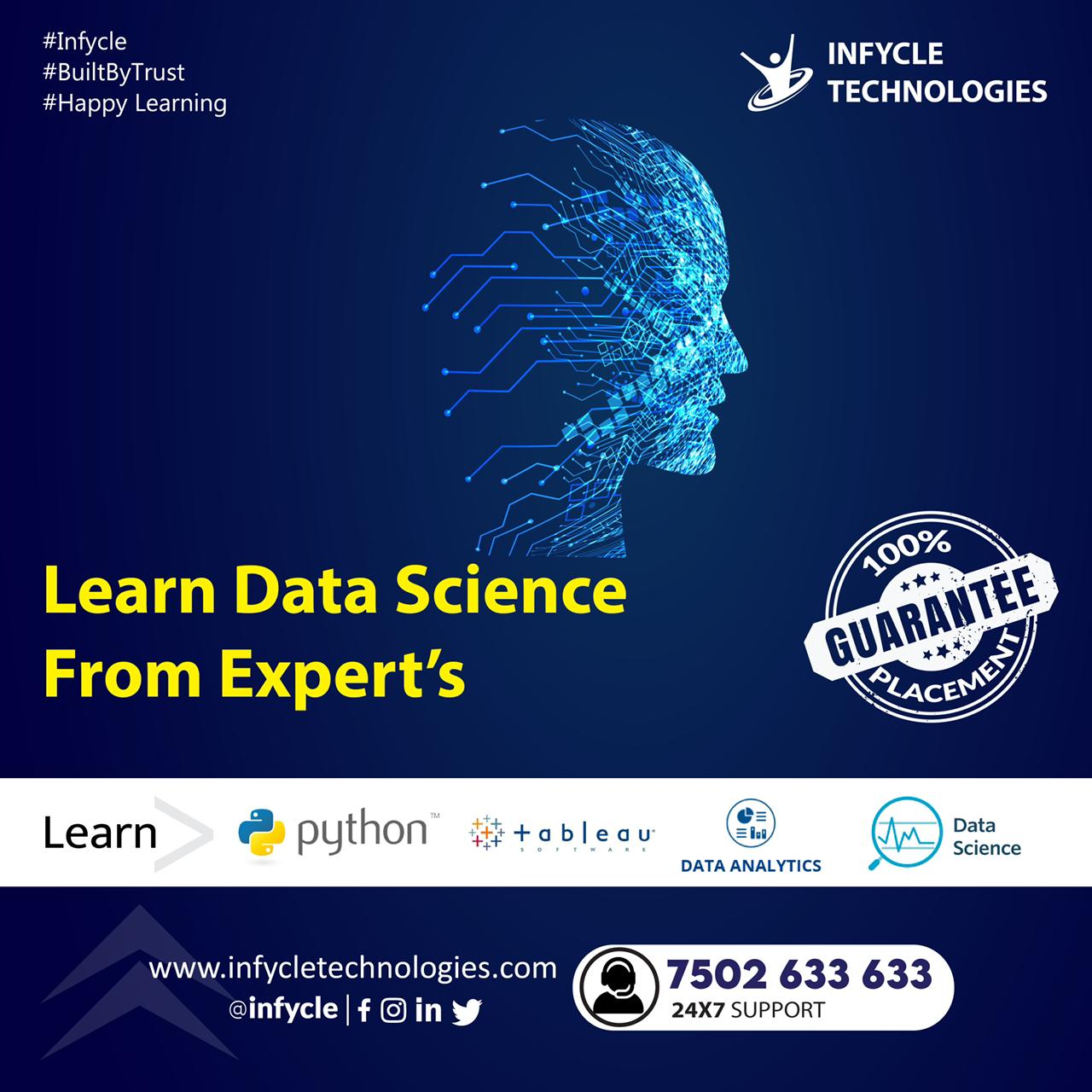 Data Science Course in Chennai  Infycle Technologies ,Chennai,Services,Education & Classes,77traders