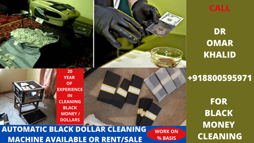 SSD SOLUTION CHEMICAL FOR CLEANING BLACK MONEY,Nagrota Bypass Road,Services,Other Services,77traders