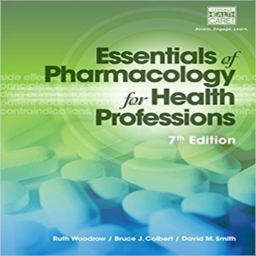 Test Bank for Essentials of Pharmacology for Health Professions 7th Ed,10010,Books,Other Books,77traders