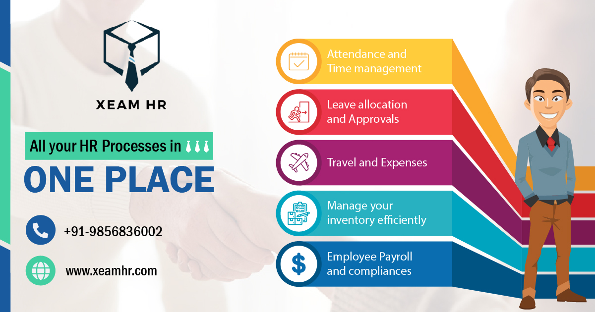 Xeam HR Best Human Resource Software,Mohali,Others,Services,77traders