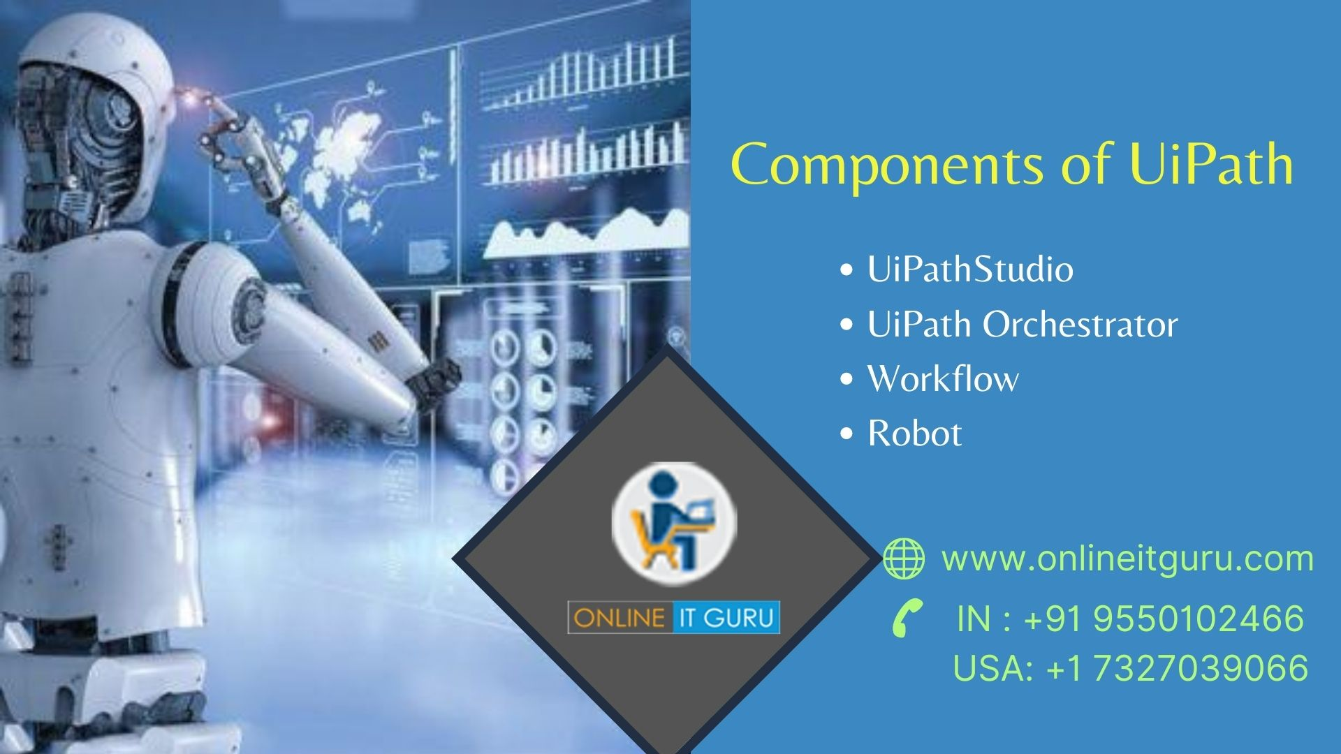 Ui Path Training in Hyderabad |  RPA Ui Path Training,Hyderabad,Services,Education & Classes,77traders
